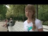 Интервью для корейского телевидения SBS. Сюжет о художественной гимнастике.